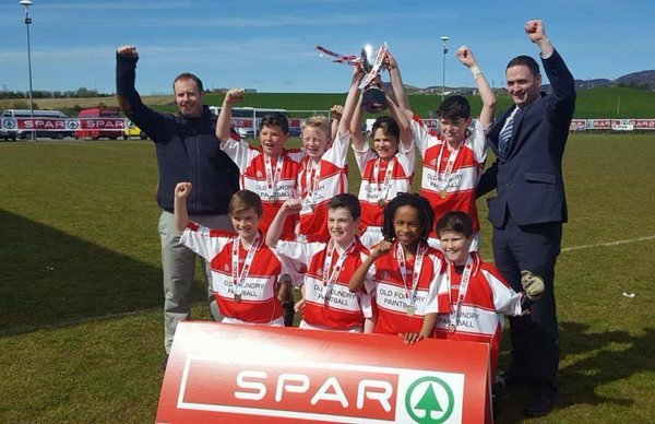 Spar FAI 5-a-side Ulster Primary Schools Champions