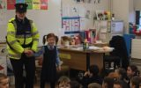 Garda Visit to Junior Infants