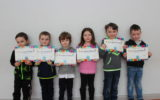 Certificate Winners for February and March